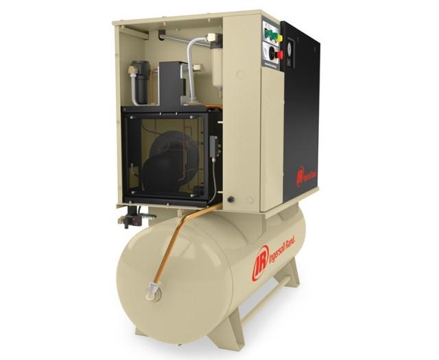 蓬莱4-11kW微油螺杆式空压机(带集成空气系统)