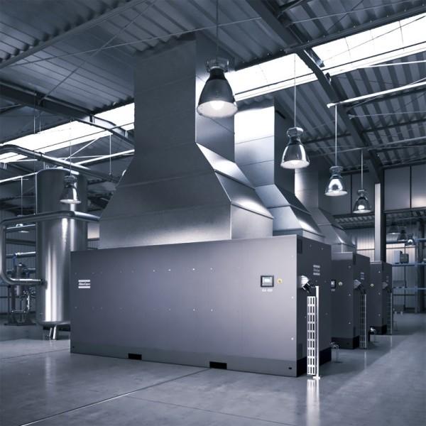 油润滑螺杆式压缩机GA(VSD⁺)
